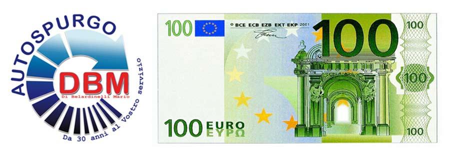 Autospurgo a partire da 100 euro